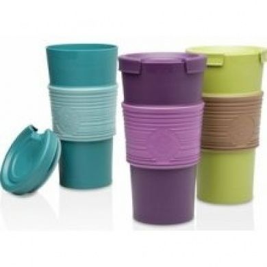 5d35d14ffff Aladdin Industries 16 Oz Assorted Colors Recycled & Reusable Travel ...