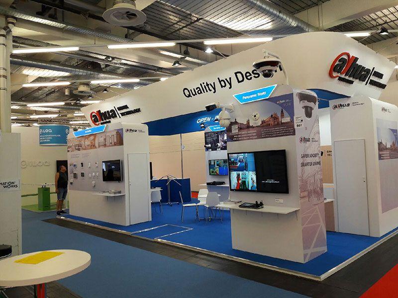 Exhibition Stand Builders In Munich : Our recent work in sicherheitsexpo munich for dahua