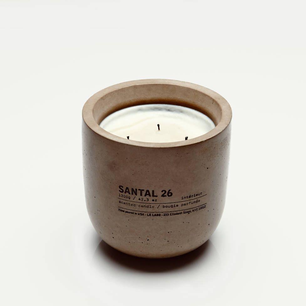 Le Labo Concrete Candle Inspiration Magazine Objet