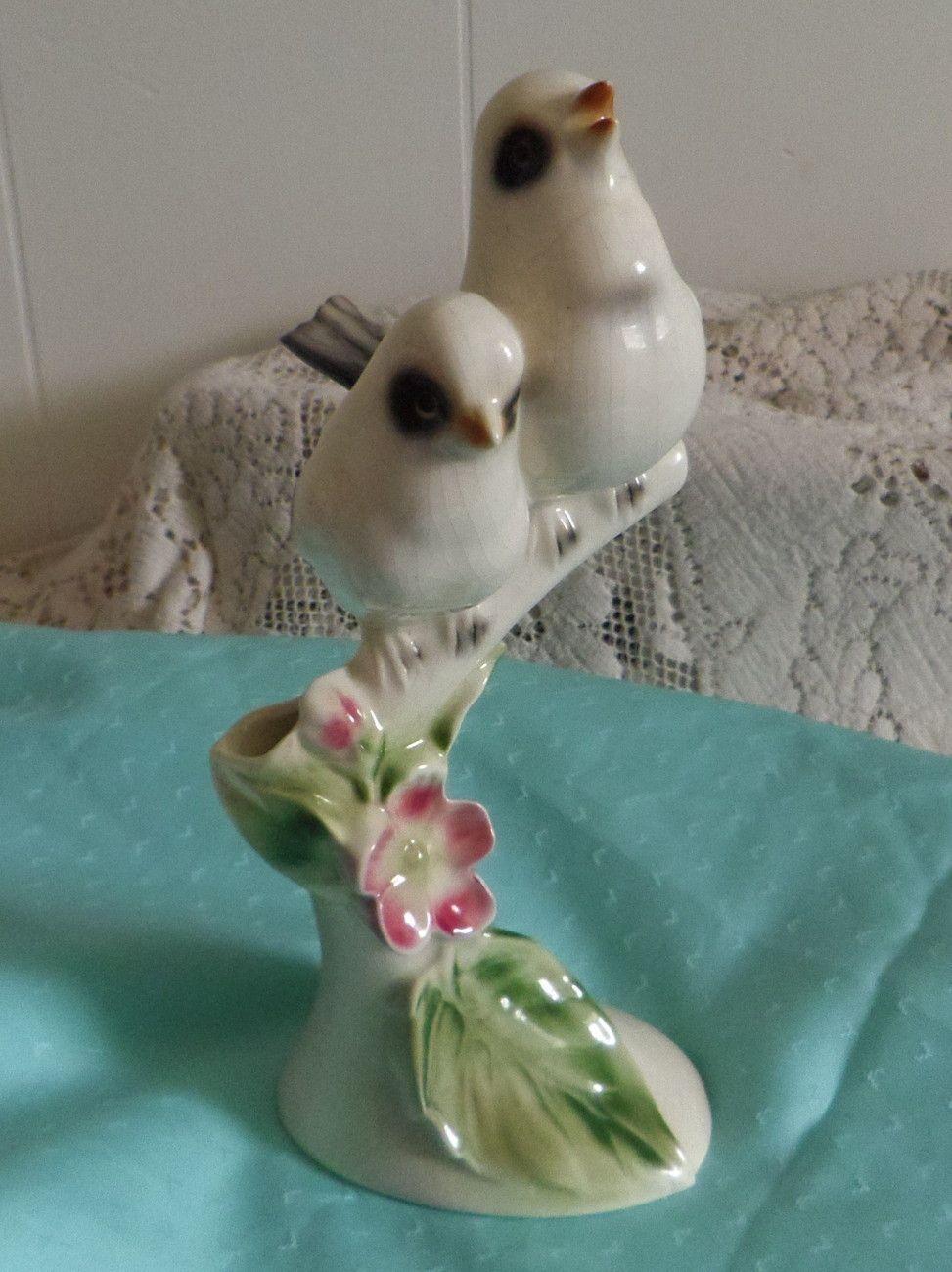 Clay Sketches Pottery Pasadena California Bird Figurine