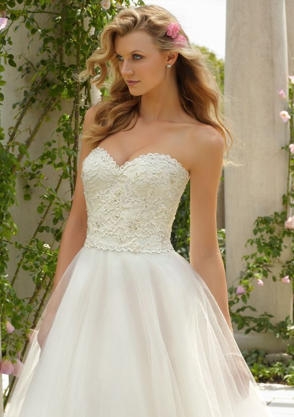 Tea Length Wedding Dress Mori Lee
