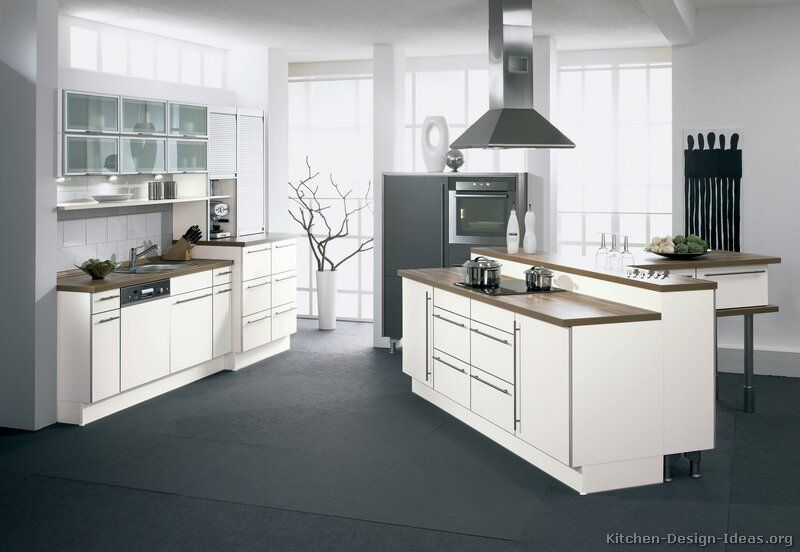Beautiful Modern European Kitchen Cabinets