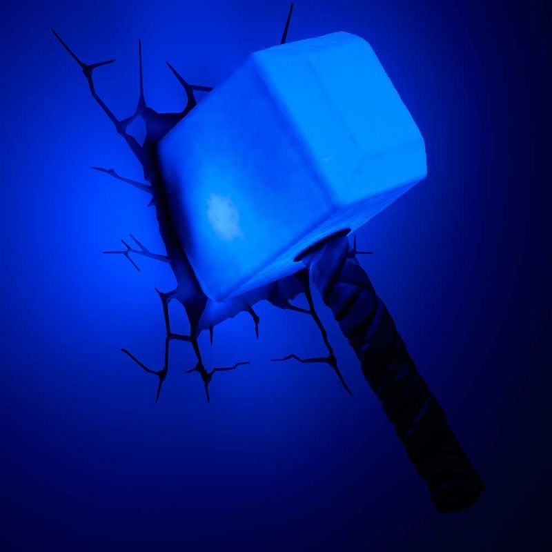 Thor wall light avengers gifts for movie buffs pinterest marvel avengers thor led wall light hammer by philips aloadofball Gallery