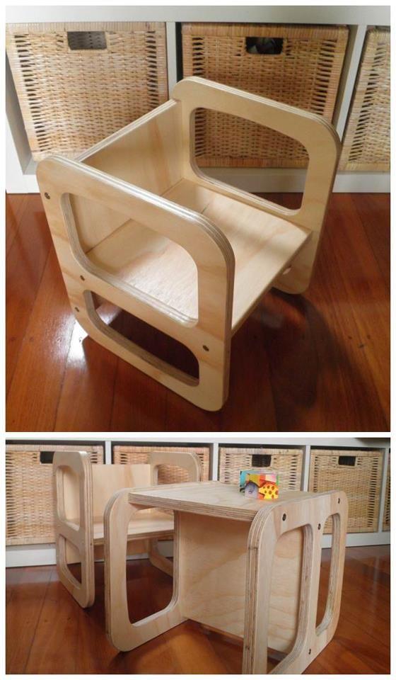 Cube Chair Or Desk:) Montessouri