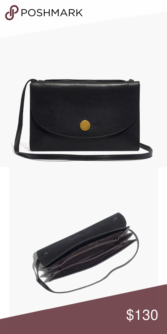 d72340fb137a Madewell Slim Convertible Bag Black colored! Received as a gift and didn t  suit