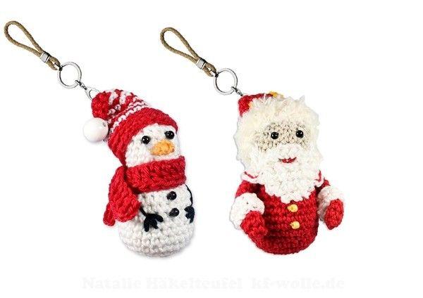 jetzt weihnachtsdeko h keln nikolaus bzw weihnachtsmann schneemann die beiden sind super. Black Bedroom Furniture Sets. Home Design Ideas