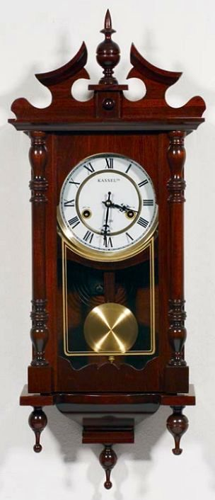 Kassel 15 Day Wall Grandfather Clock Vintage Clock Grandfather Clock Pendulum Clock