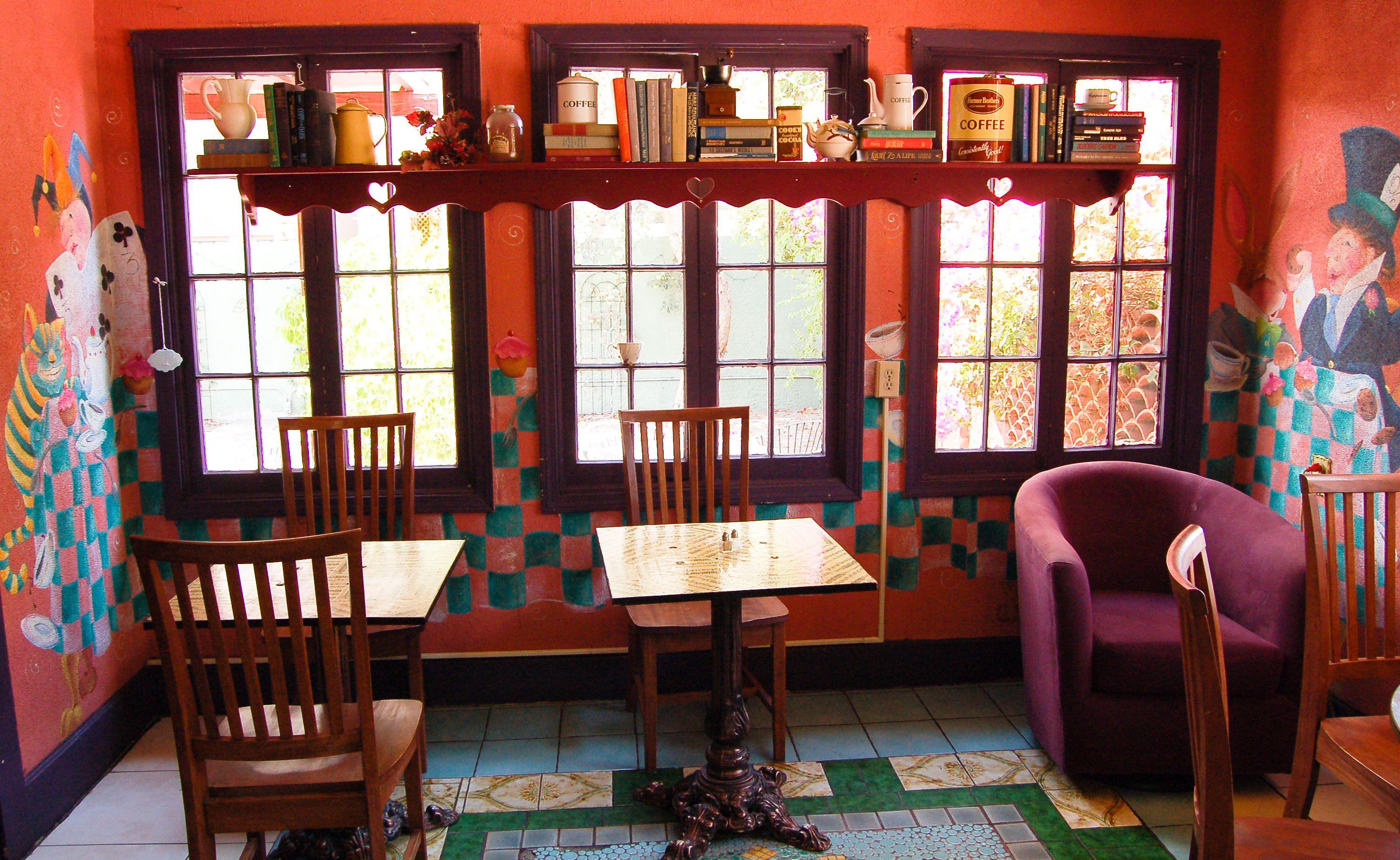Wonderland Coffee Shop Idea We Re All Mad Here Pinterest