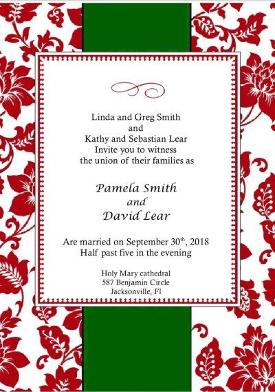 17 Best images about Invites Templates – Christmas Invitation Cards Template