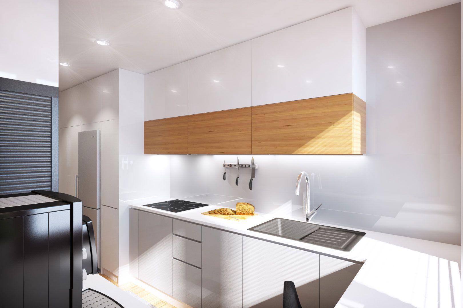 Diseño de pequeño departamento de 62 m² de dos dormitorios, descubre ...