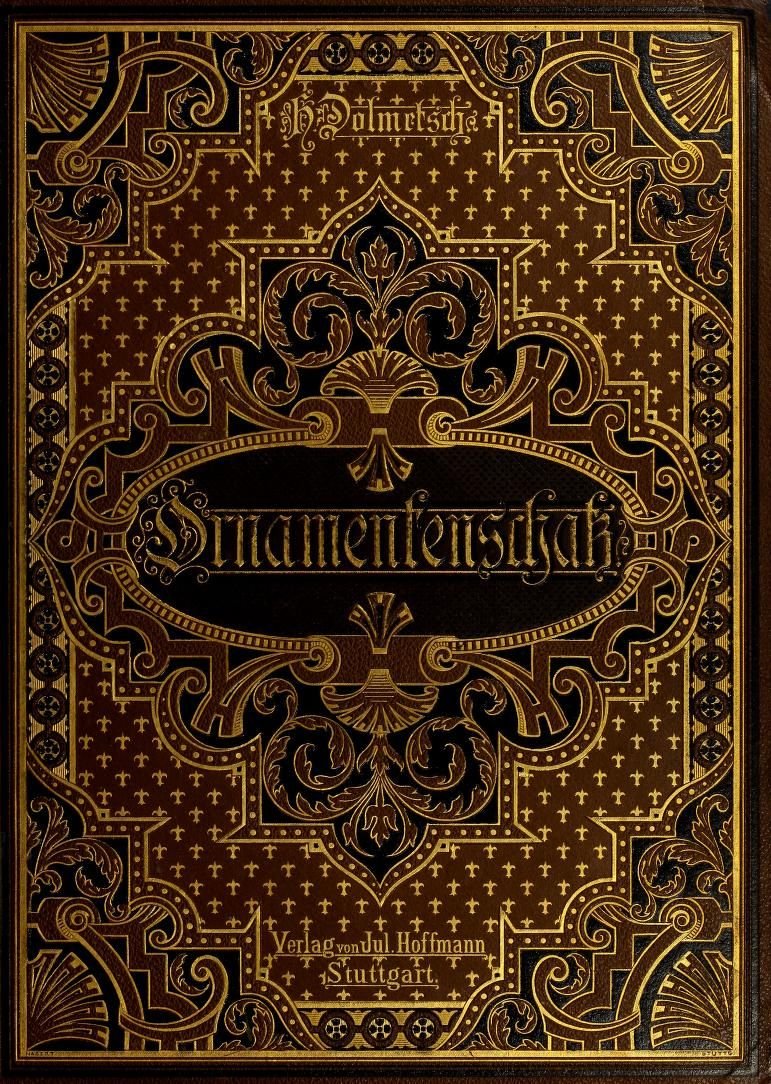 Beautifully Illustrated Book Covers : Der ornamentenschatz beautifully illustrated with