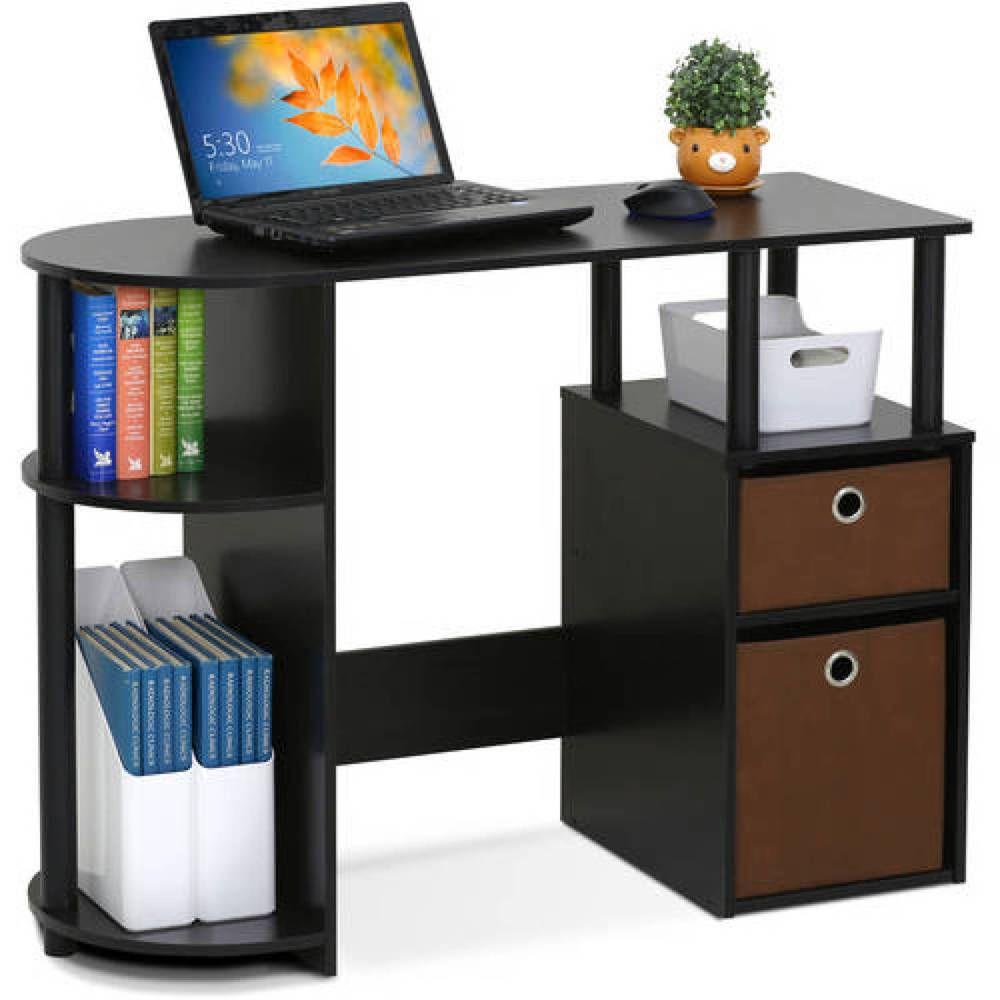 Computer Desk Laptop Table Workstation Drawers Shelf Home Office Study Furniture Furinno Home Office Furniture Home Office Storage Furniture Deals
