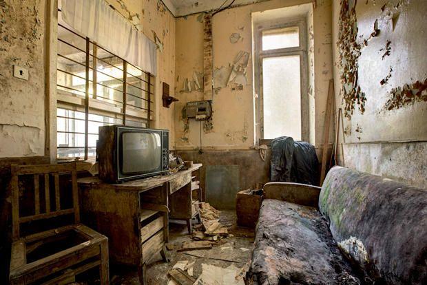 Eerie Photos Of Abandoned Soviet Buildings Building Ukraine - 24 mysterious haunting abandoned buildings soviet union