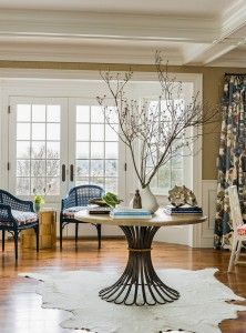 Round Foyer Table. Foyer Round Table Ideas. Round Table In Foyer Is Bunny  Williams