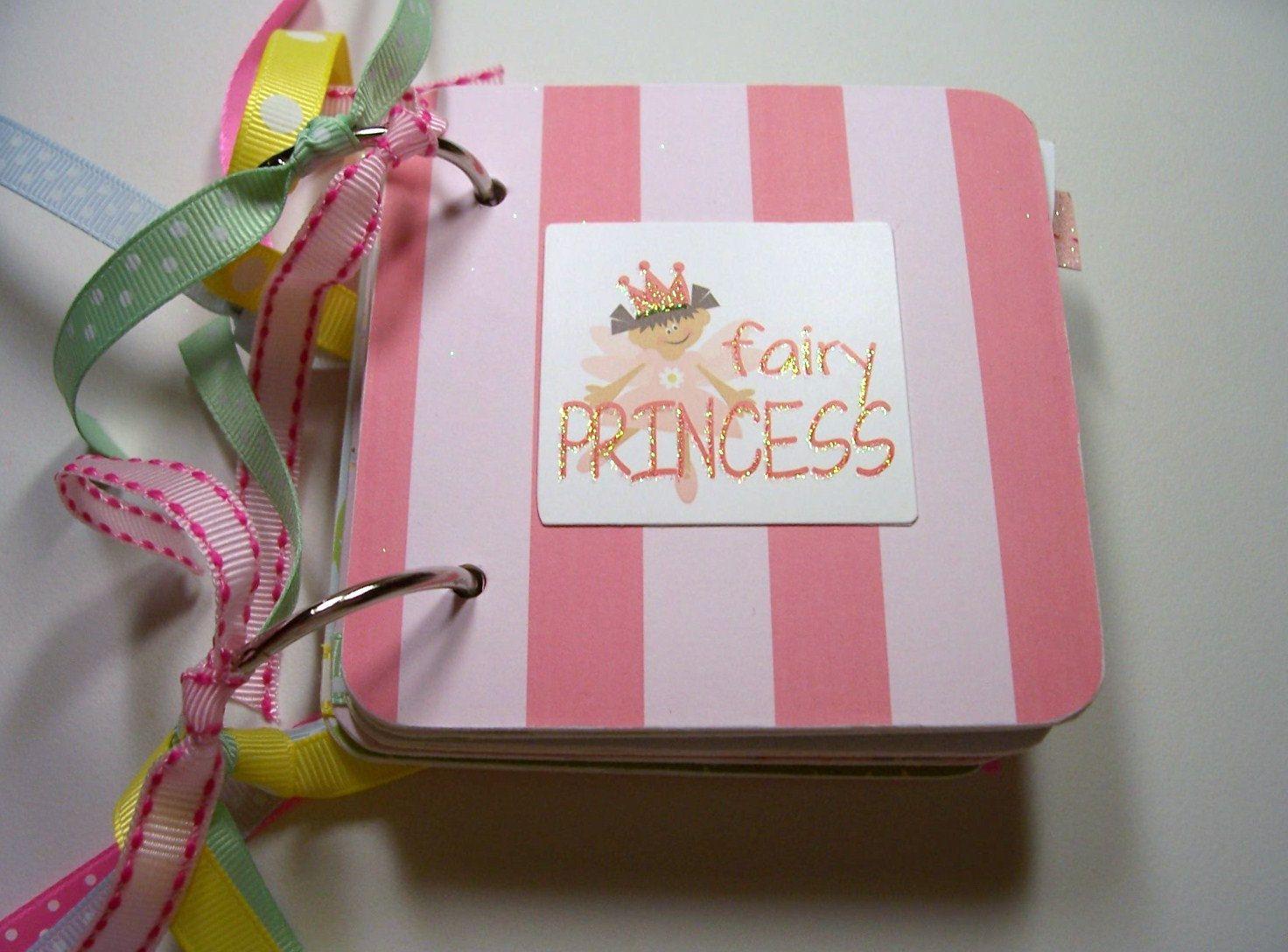 Fairy Princess Mini Album, Fairy Mini Album, Fairy Princess, brag ...