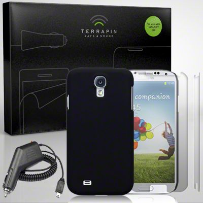 Samsung i9500 Galaxy S4 Starter Pack by Terrapin - Black All you could possibly need to enhance your phone in one pack.