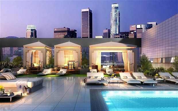 Trophy penthouses around the world penthouses rooftop for Penthouses in los angeles