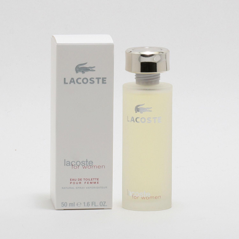 Lacoste For Women Edt Spray White Box Eau De Toilette Feminine Fragrance Perfume