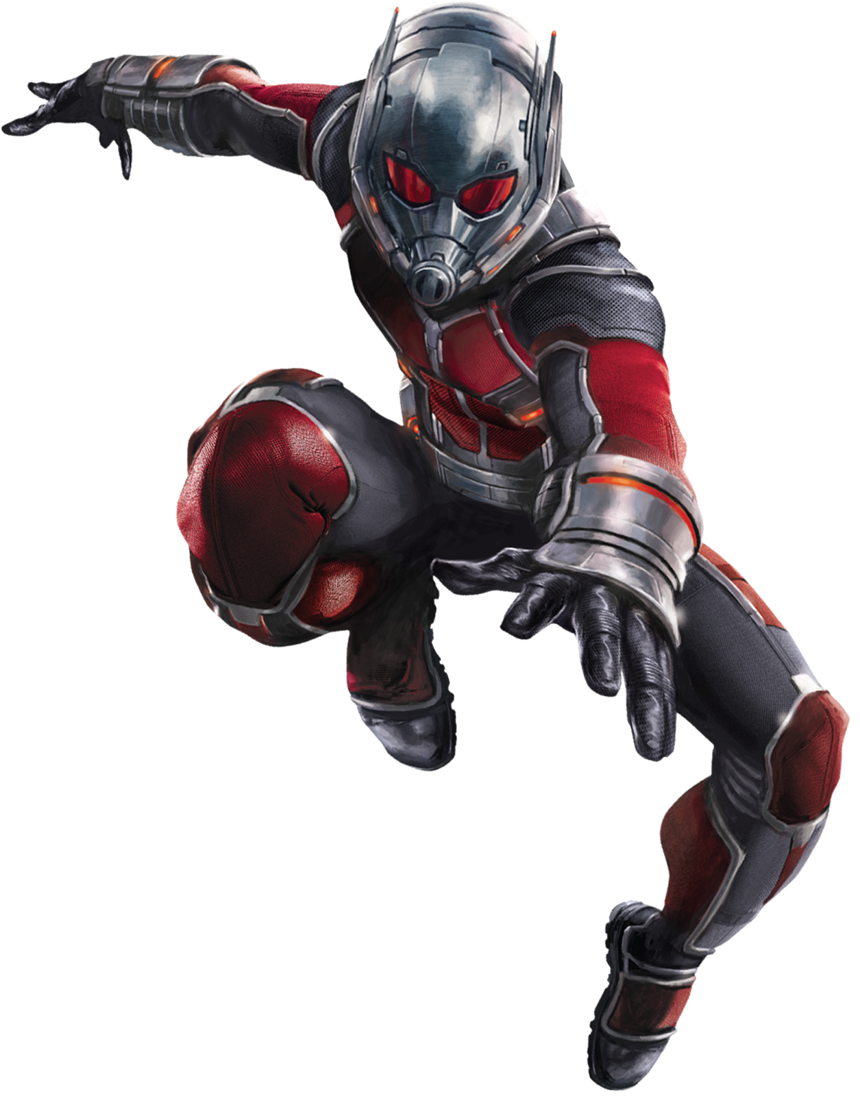 This is a graphic of Dashing Marvel Heroes Ant Man