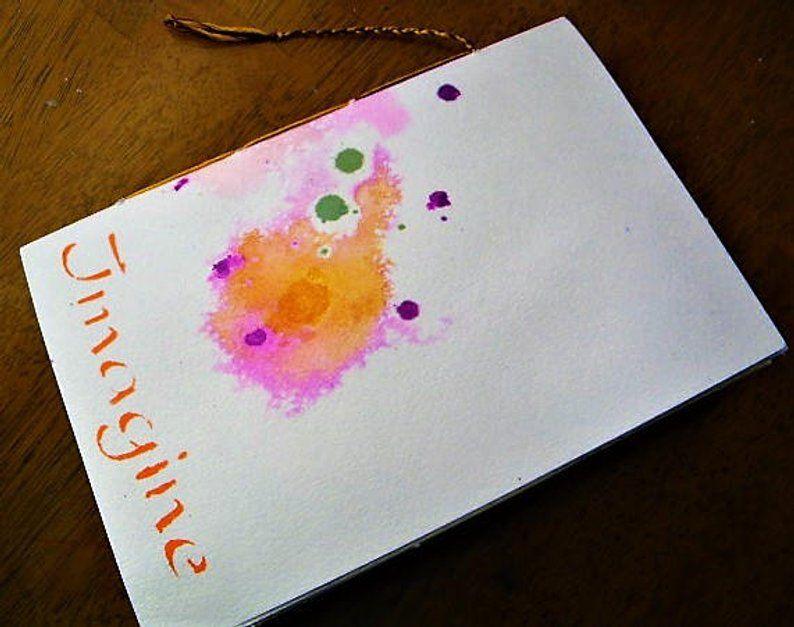 Ready To Use Art Journal Handmade Book Handmade Journals Art