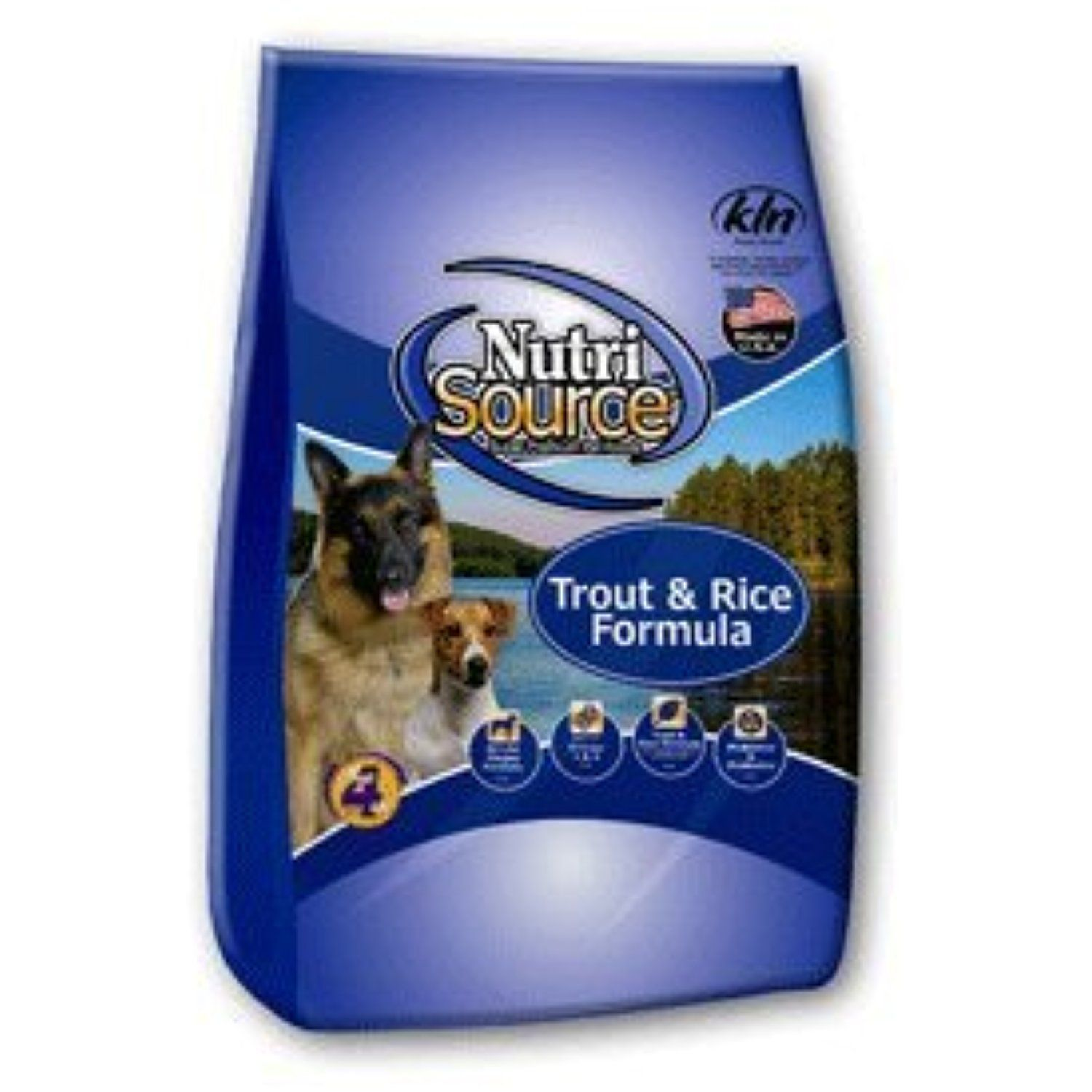 NutriSource Trout & Rice Dog Food 5 lb You could get