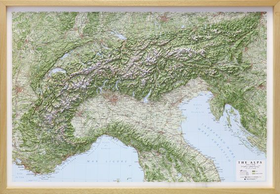 Raised relief map of the alps raised relief maps pinterest raised relief map of the alps sciox Gallery