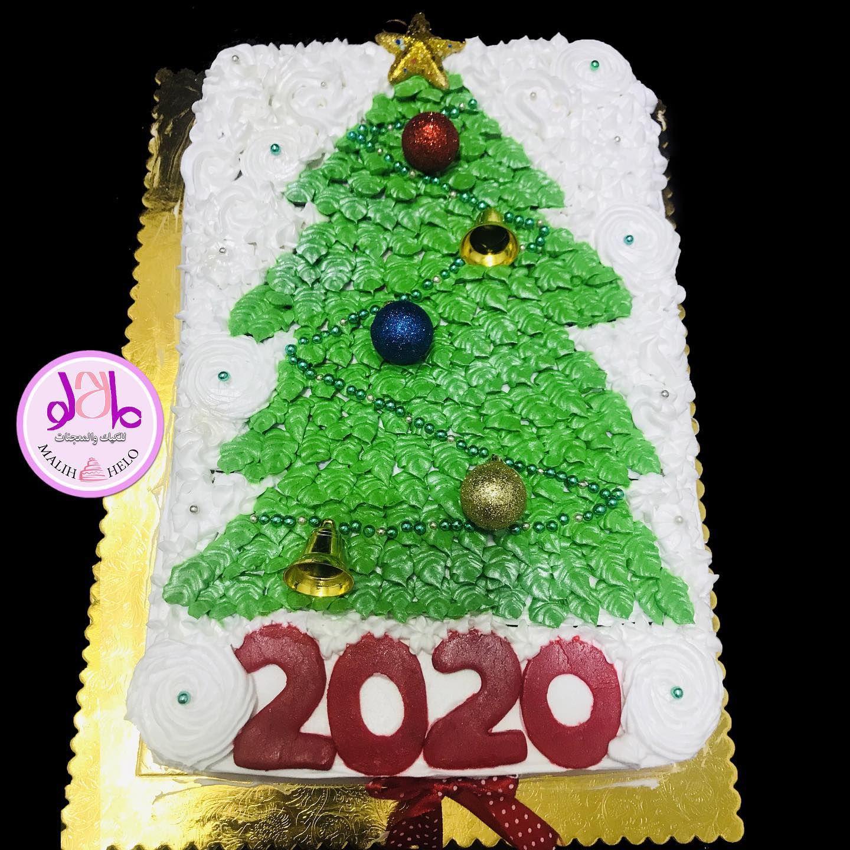 كيكة شجرة عيد الميلاد تنعاد عليكم بالصحة والسلامة مالح حلو للكيك كيك كيكة مالح مالح حلو حلويات معجنات ب Christmas Ornaments Christmas Novelty Christmas