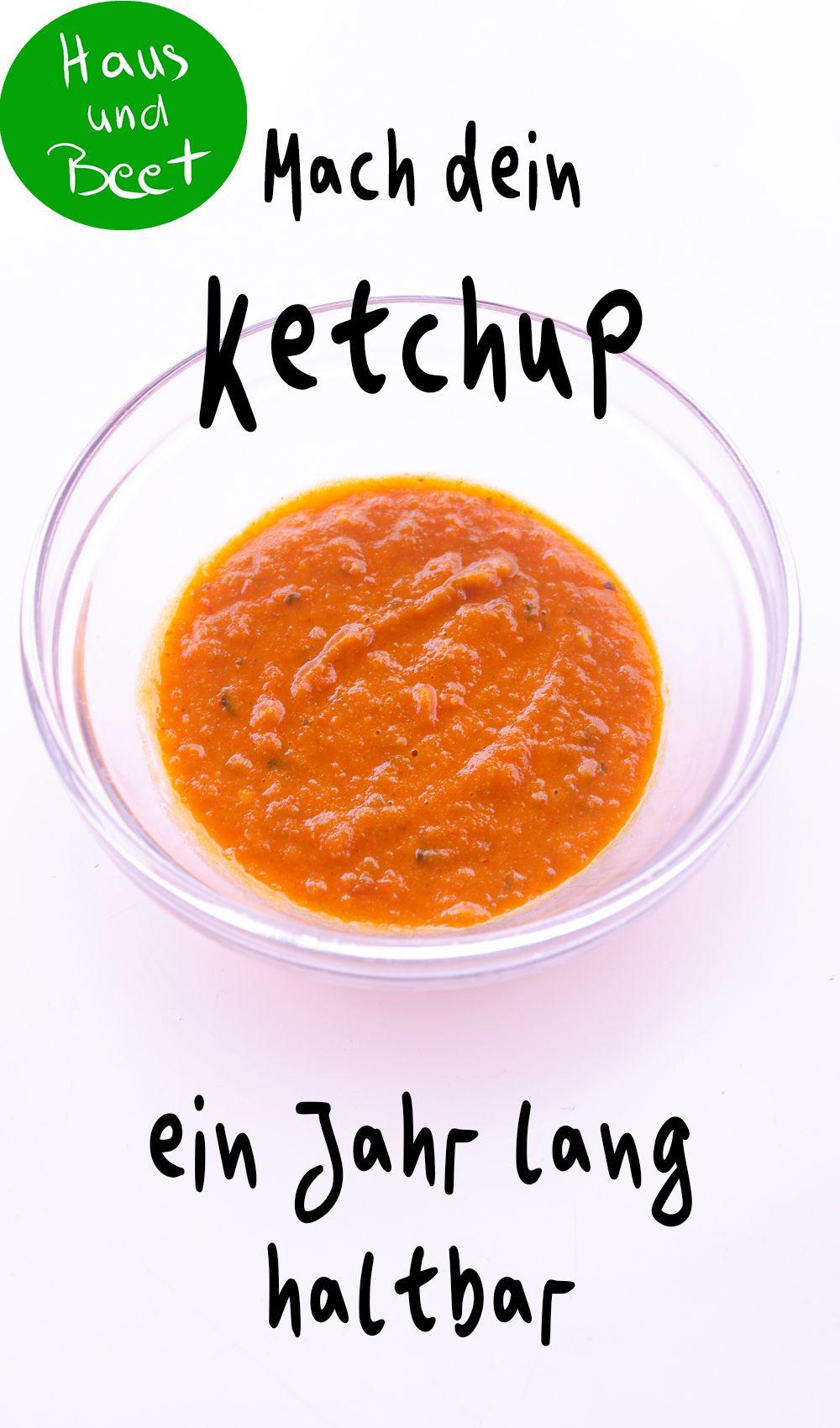 Ketchup selber machen – Haltbar für 1 Jahr #beetanlegen