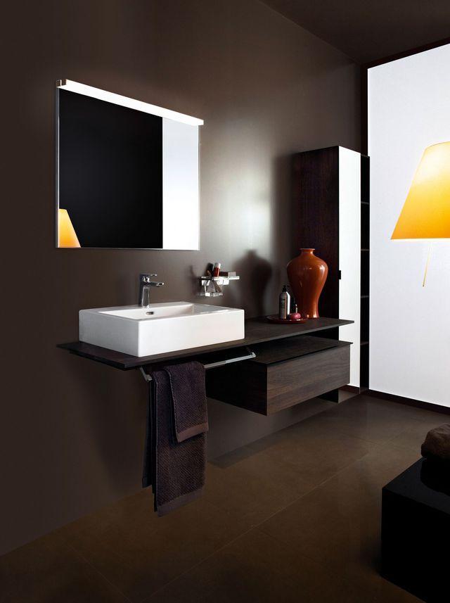 Meuble salle de bain  des modèles tendance Bathroom cabinets and - Meuble De Salle De Bain Sans Vasque