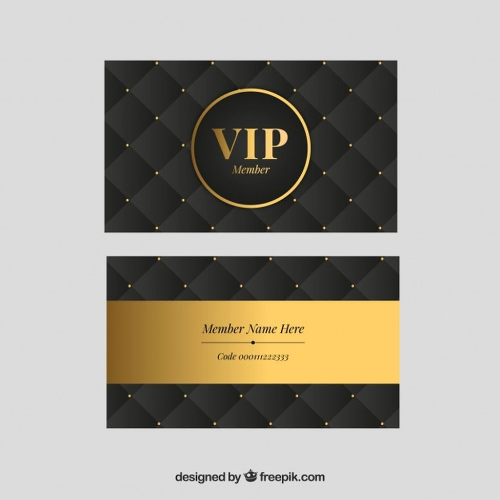 Golden Set Of Classic Vip Cards Paid Affiliate Ad Set Cards Vip Golden In 2020 Business Cards Layout Vip Card Visiting Card Design