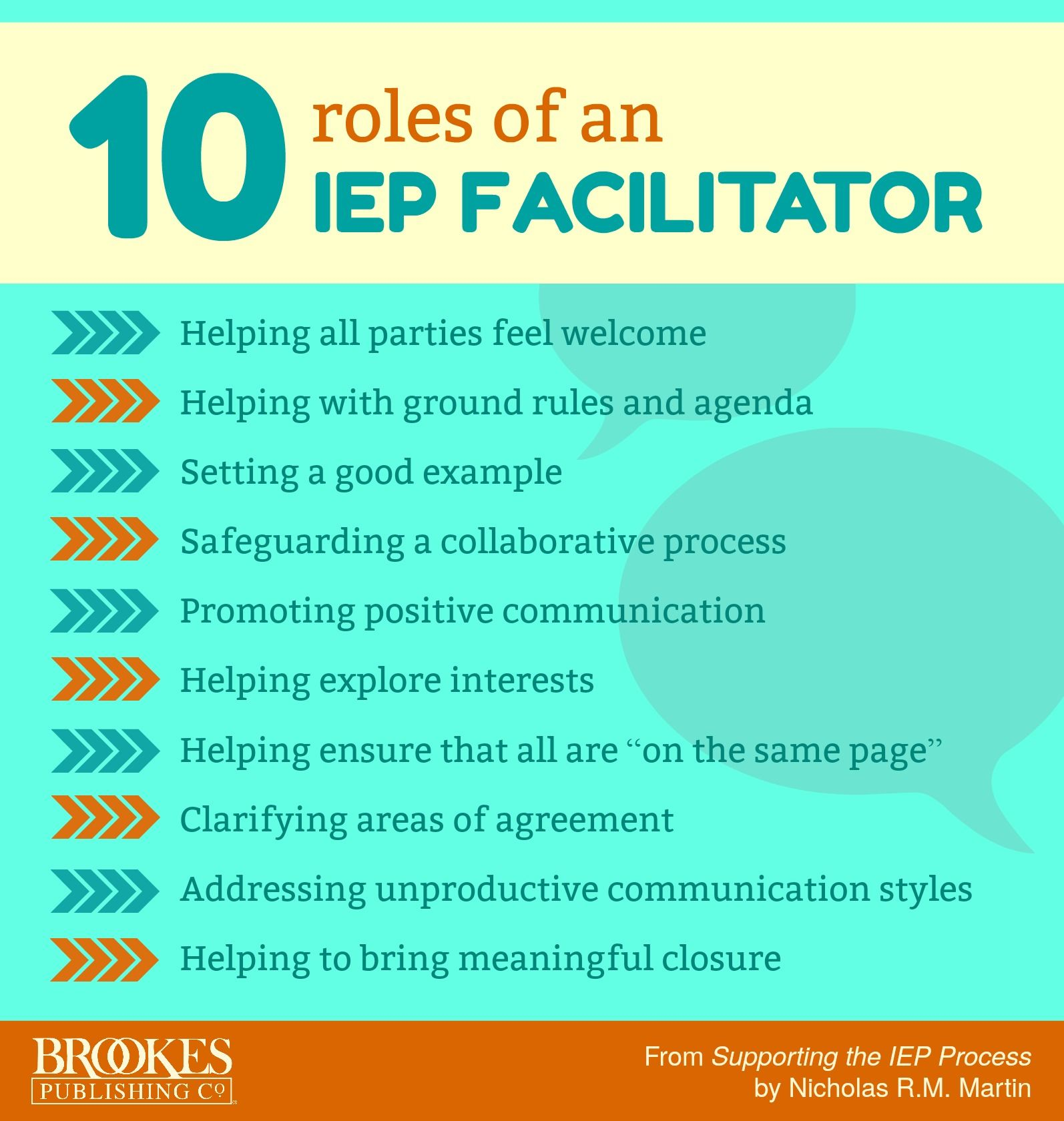 10 Important Roles That An Iep Facilitator Plays