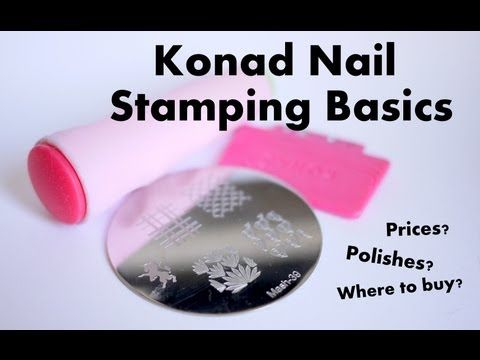 Konad Nail Stamping Basics Elleandish What Polishes To Use How