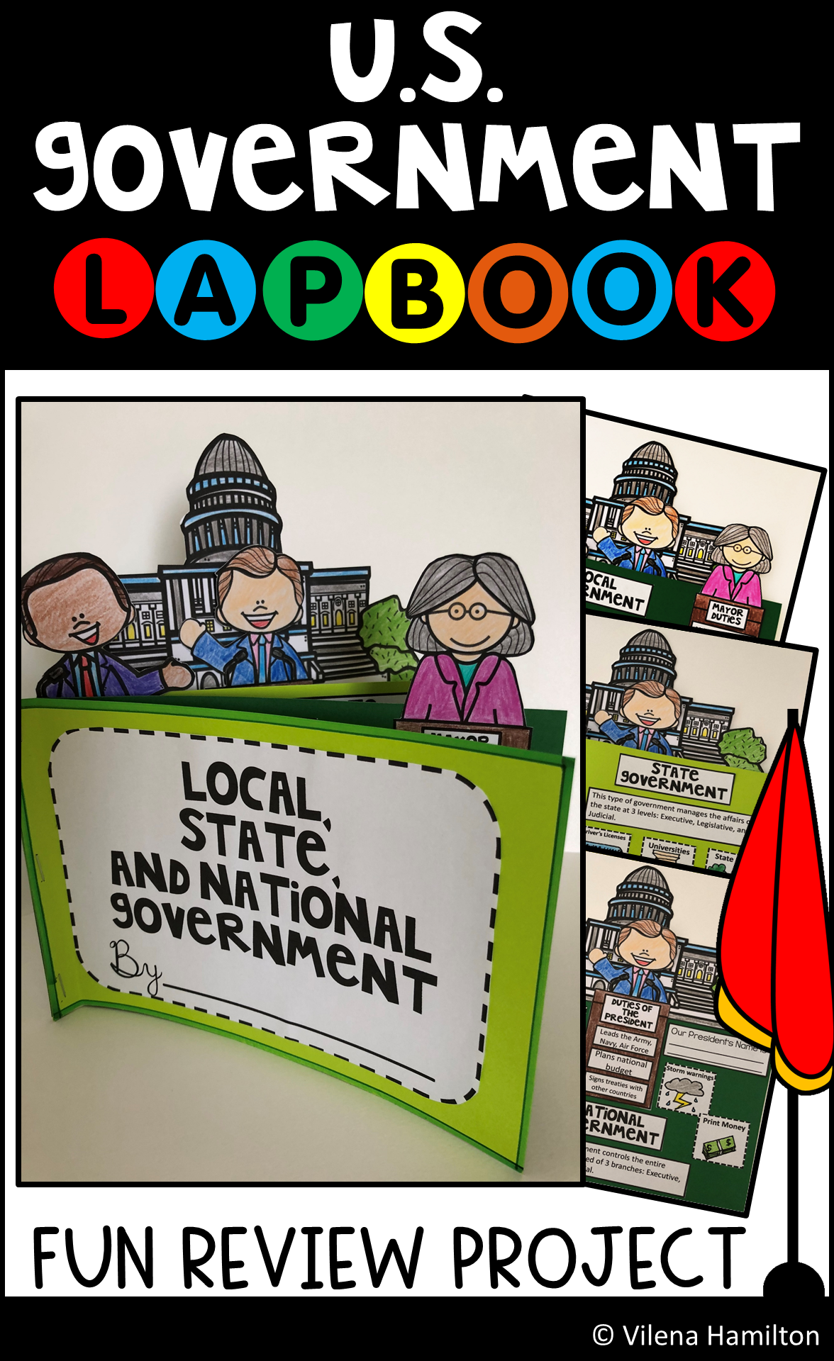 U S Government Interactive Lapbook