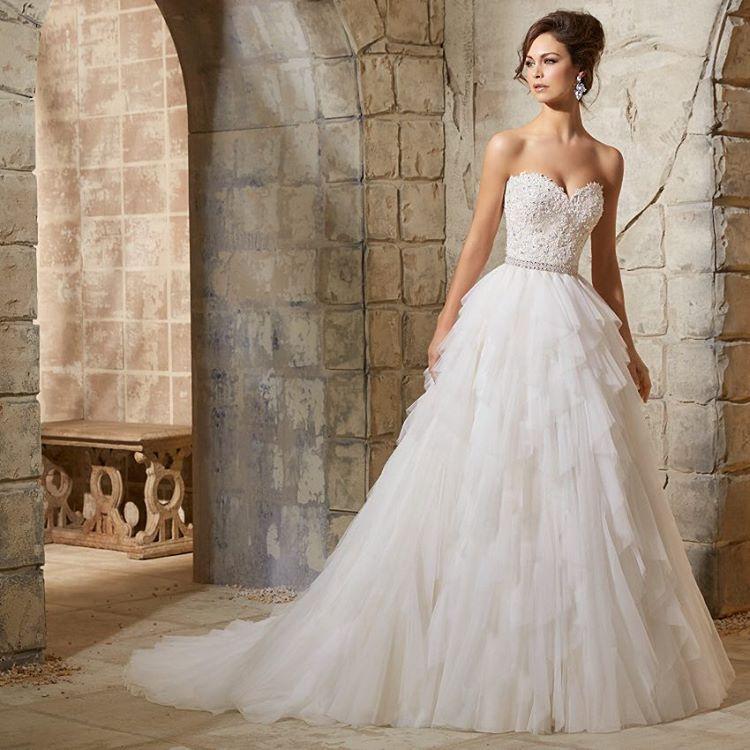 A Modern Twist On The Traditional Bridal Ballgown