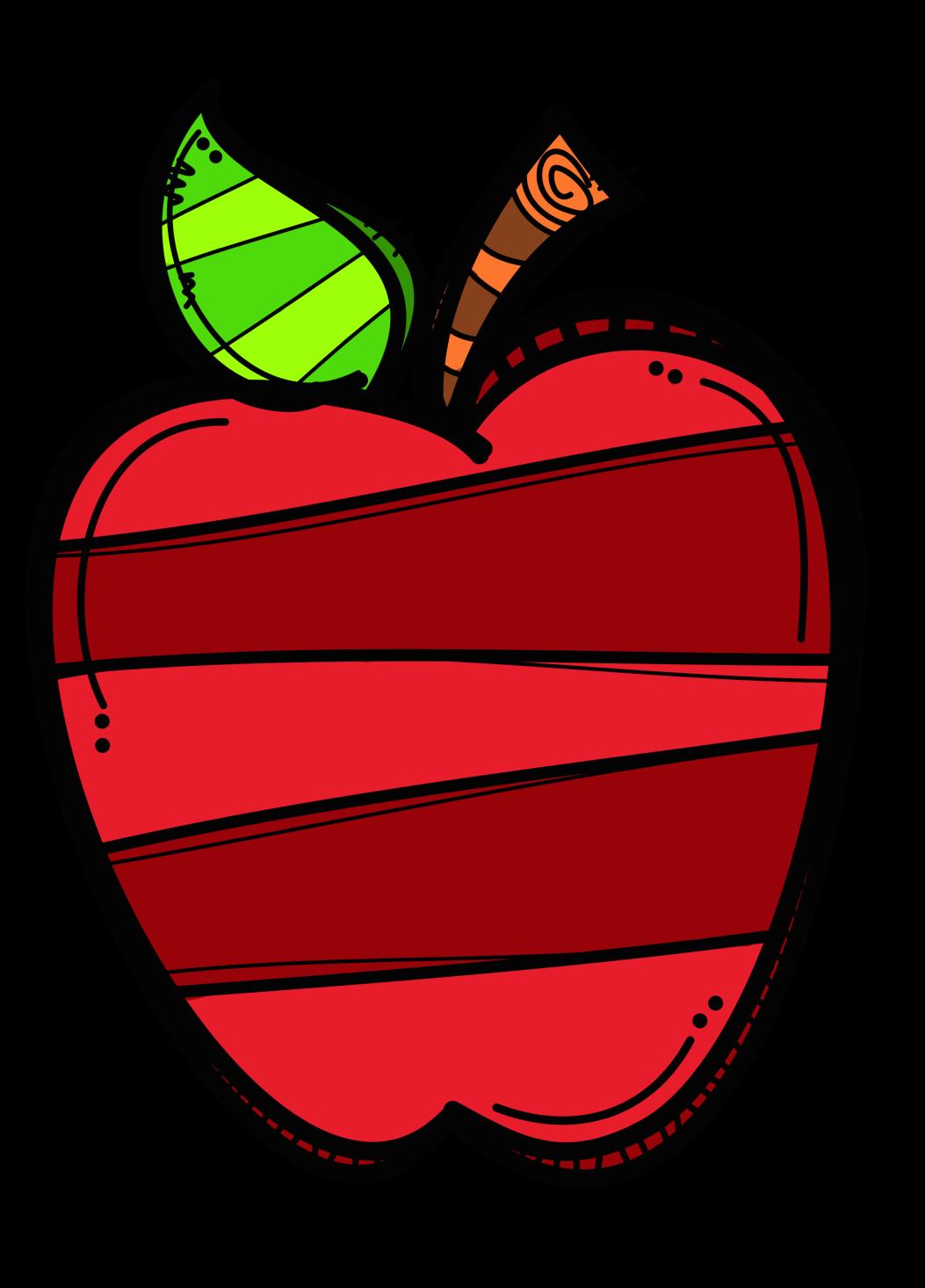 Creative Apple Red Png 1053 1466 Apple Clip Art Clip Art Palm Tree Clip Art