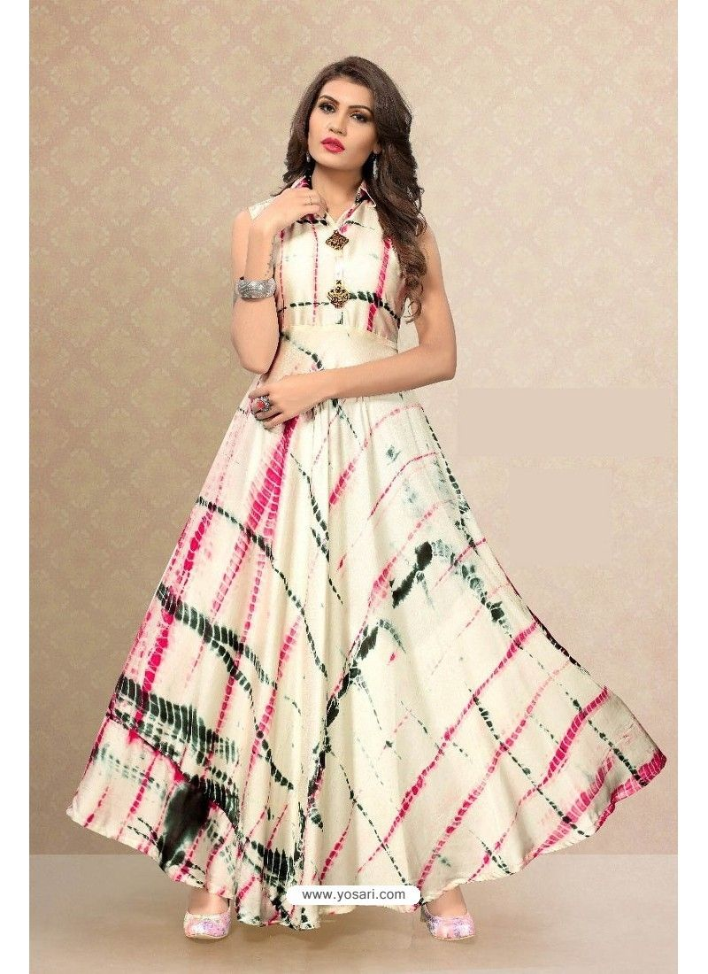 Multi colour partywear designer readymade kurti women clothing