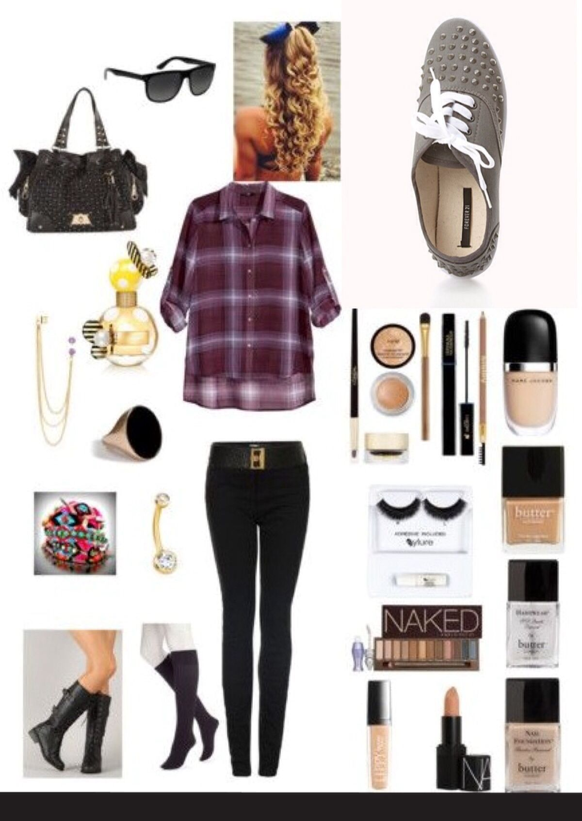 Inspired Outfit .... punk. rock. grunge - Pop Punk Fashion: Learn On It, Rely On It, LIVE IT My Style