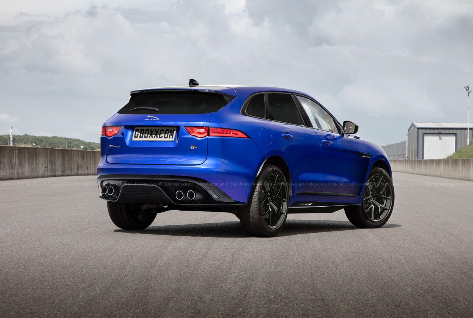Jaguar F Pace Svr Autos