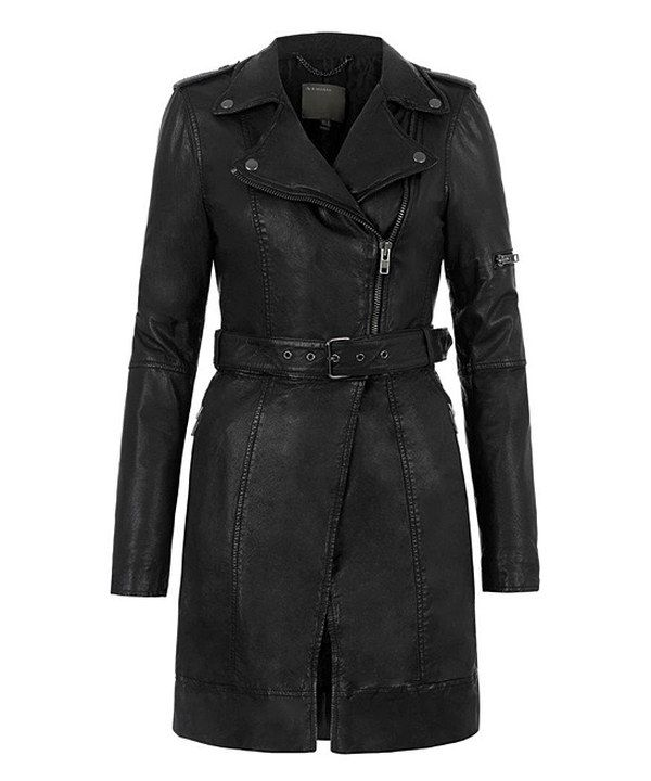 Look at this Black Taras Leather Convertible Jacket on #zulily today!