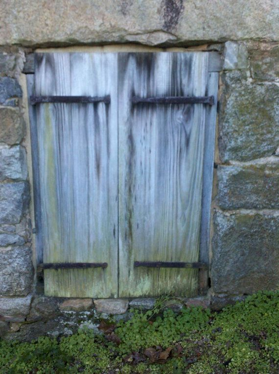 Water Mill Cellar Door Digital Download Weaththered Board on Stone