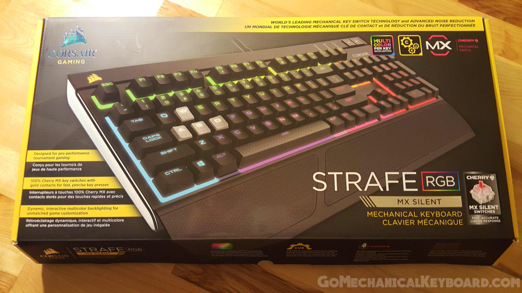 13c5a522b54 Corsair STRAFE RGB review - Cherry MX switches, the perfect gift for a PC  gamer