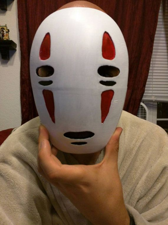 No Face Mask Cosplay Spirited Away 3d Printed And Hand Etsy In 2020 Anime Inspired Cosplay Art Wallpaper Iphone
