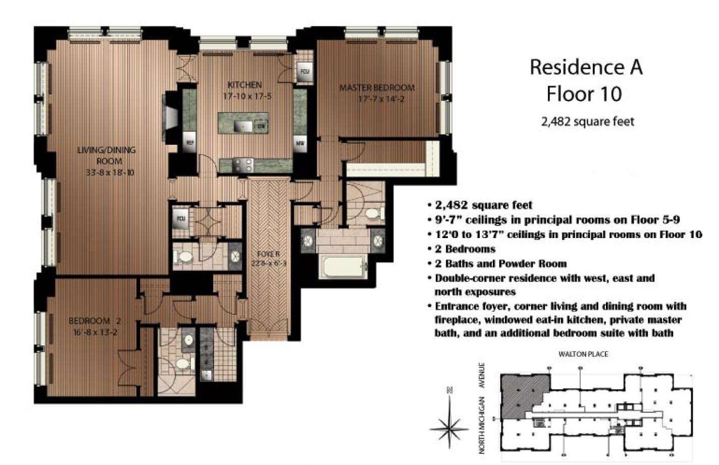 159 e walton floor plans google search