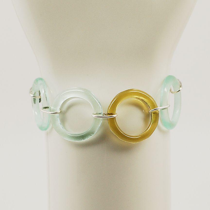 e6871d09835f83 glass bracelet - Upcycled glass from coke bottles | Products I Love ...