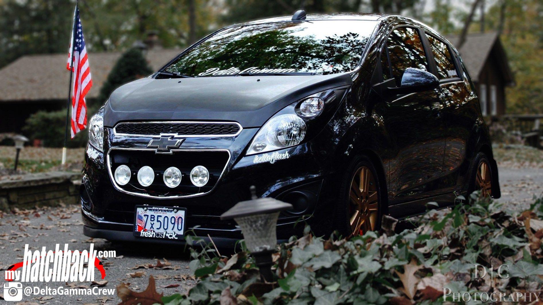 Leonides 2015 Chevy Spark Hatchback Aka Warbunny Autos