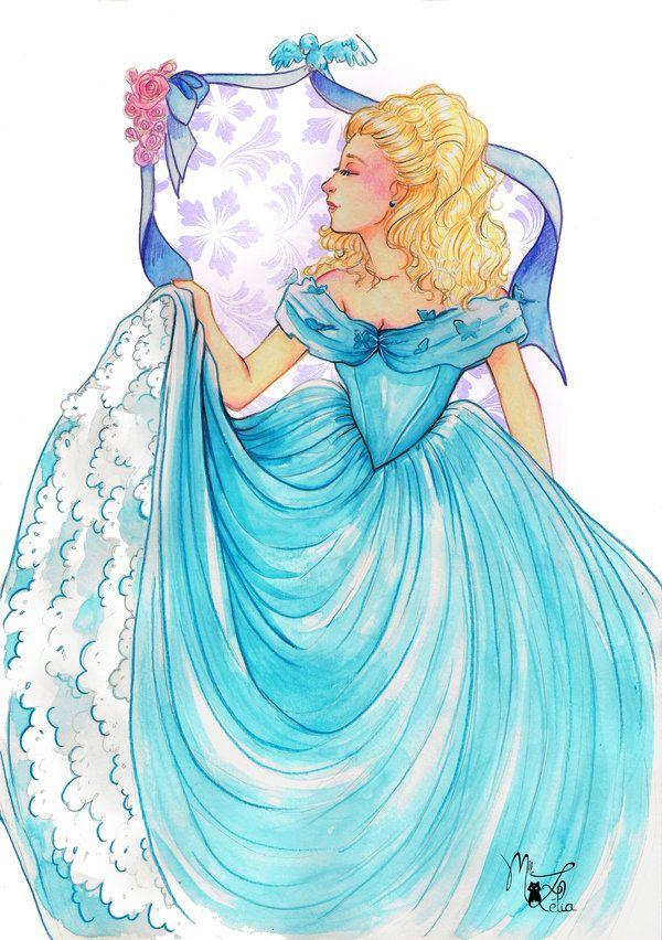 Cinderella by on DeviantArt