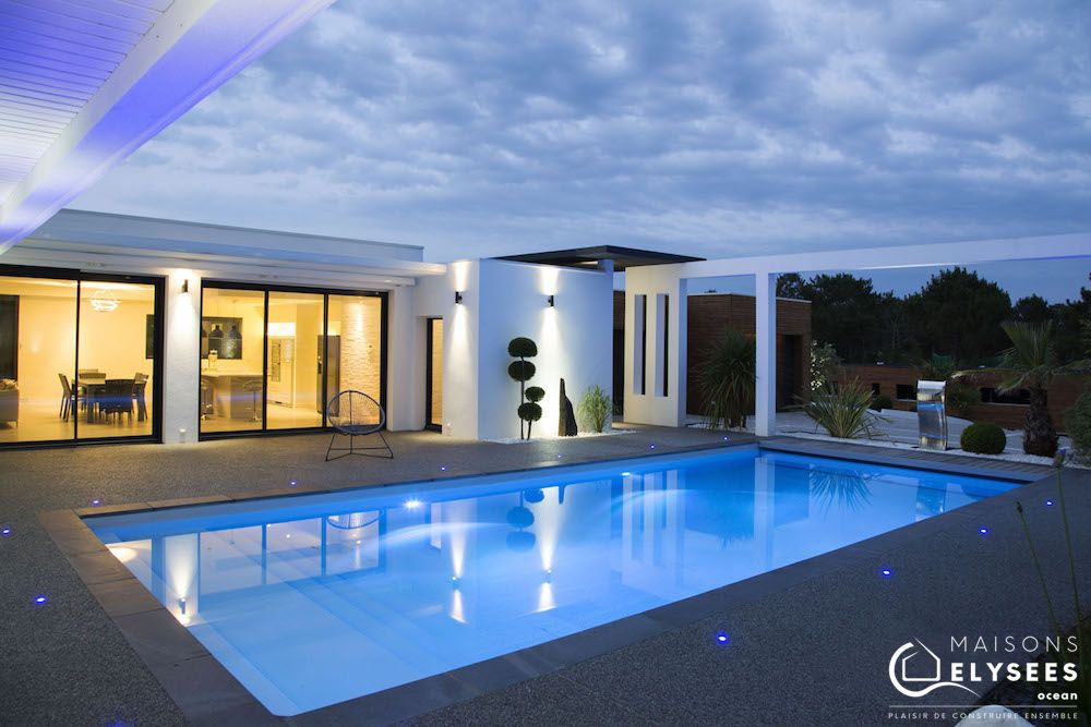 Villa Contemporaine D Exception Style Californien Maisons