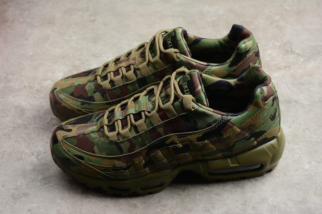 "1fc89f0b7d8 2018 Mens Nike Air Max 95 TT ""Japan"" Camo Sneakers 634775-220 in ..."