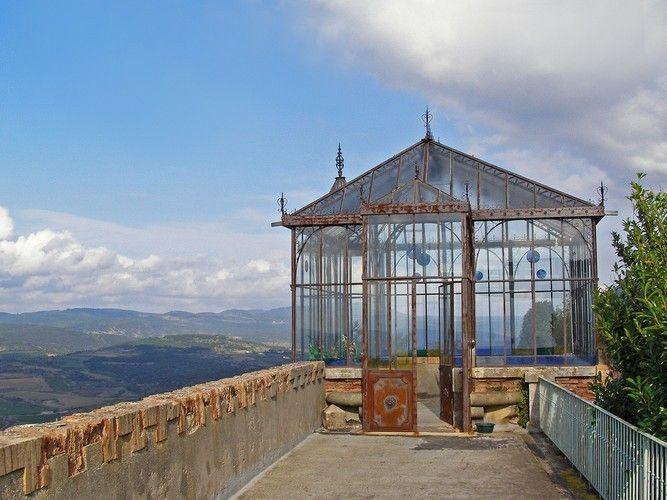 orangerie avec tourelle, suréelevée, vue du haut, of l\'abbe ...