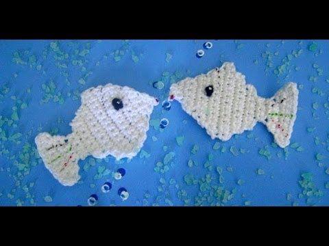 Peixe de Crochê para Aplicação